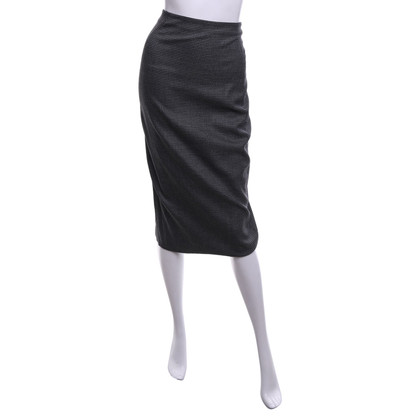 Max Azria skirt with pattern