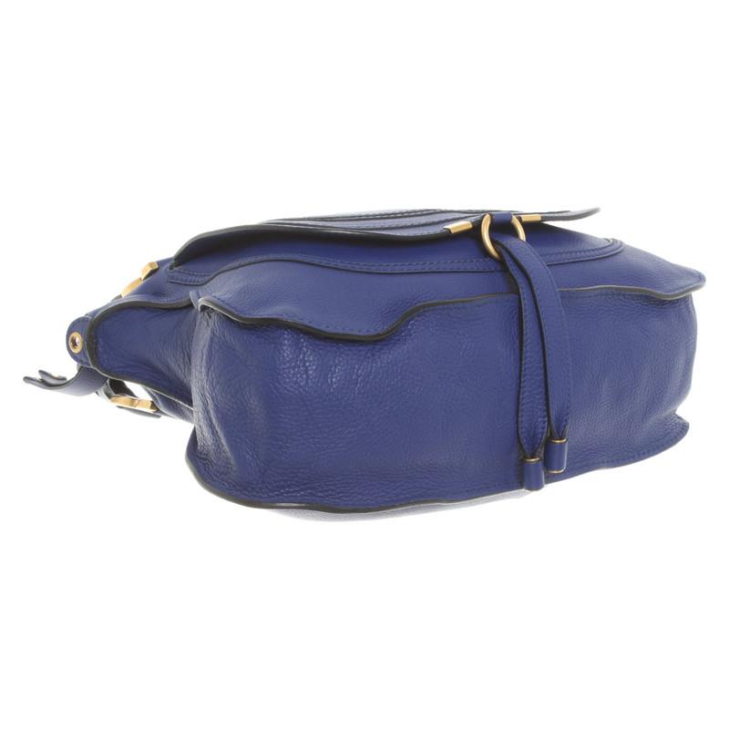special section stable quality order online Bag In Blau Hand Aus Second Marcie Leder Chloé droWQCBex
