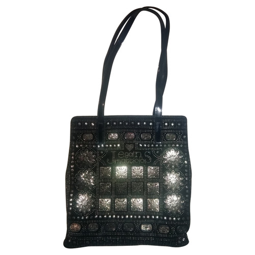 8a63d01a45b36 Andere Marke Handtasche in Schwarz - Second Hand Andere Marke ...