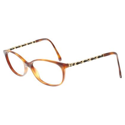 Chanel Brillengestell in Braun