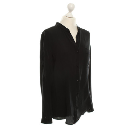 Diane von Furstenberg Silk blouse in black