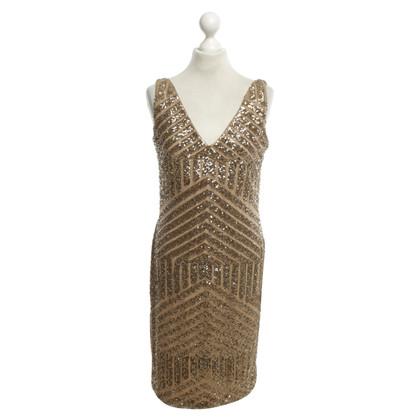 Ralph Lauren Paillettenkleid in Goldfarben