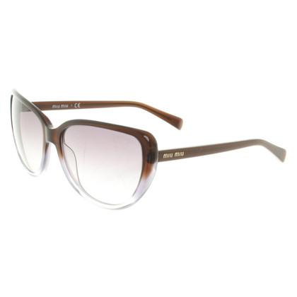 Miu Miu Sonnenbrille mit Farbverlauf