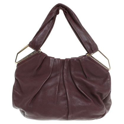 Christian Louboutin Shoulder bag in Bordeaux