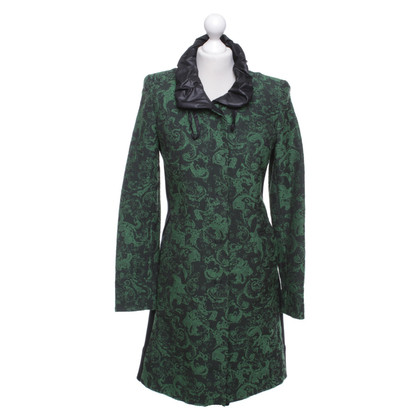 Airfield Coat with pattern