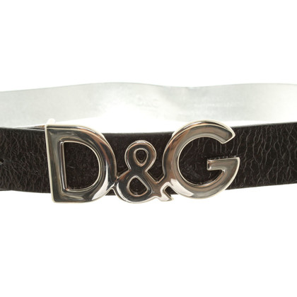 D&G Belt in Black