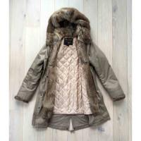 Woolrich parka invernale con cappuccio di pelliccia