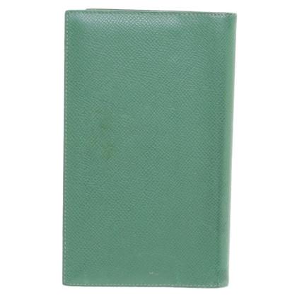 Hermès Agenda 'Vision' in verde