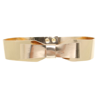 Kaviar Gauche Belt in metallic Rosé