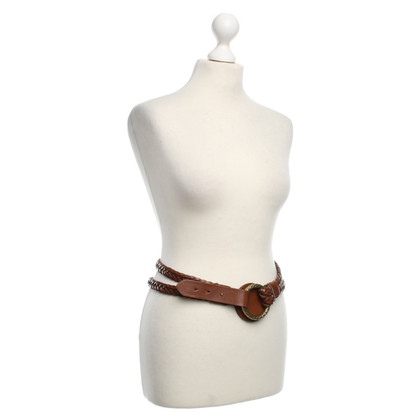 Ralph Lauren Cintura in pelle a Brown