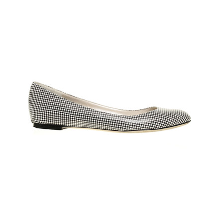 Christian Dior Ballerinas with Houndstooth pattern