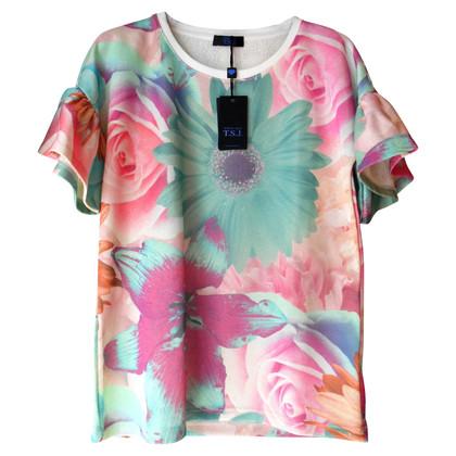 Twin-Set Simona Barbieri Twin Set floral blouse