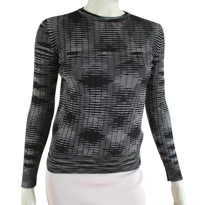 Missoni Top in black and white