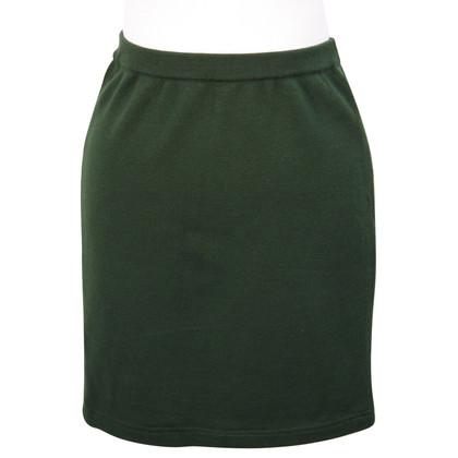 Pierre Balmain Wool skirt in green