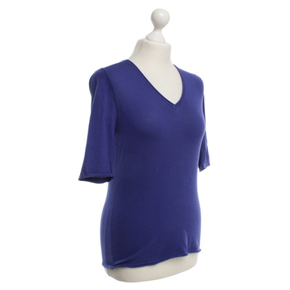 Bruno Manetti Top in blauw