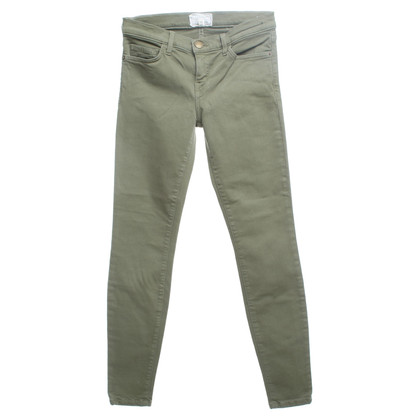 Current Elliott Jeans in het groen