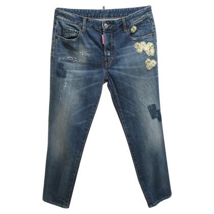 Dsquared2 Jeans con applicazione