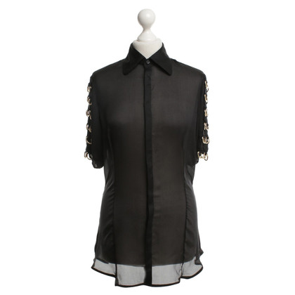Dsquared2 Silk blouse with belt