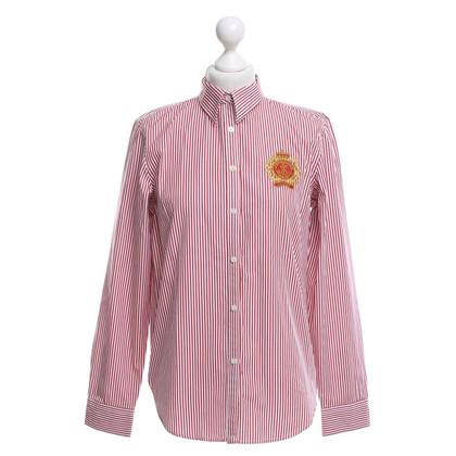 Ralph Lauren Overhemd in rood / wit