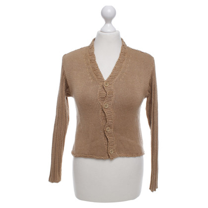 Dries van Noten Cardigan in Camel