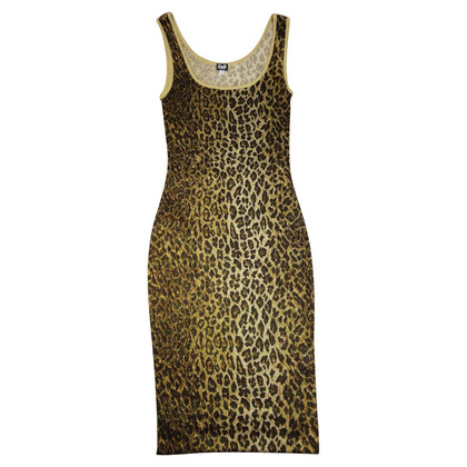D&G Kleid mit Leo-Muster
