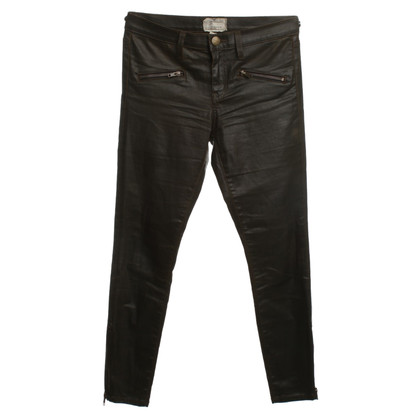 Current Elliott Waxed jeans in olijfolie