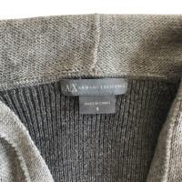 Armani Gebreide jurk in grijs