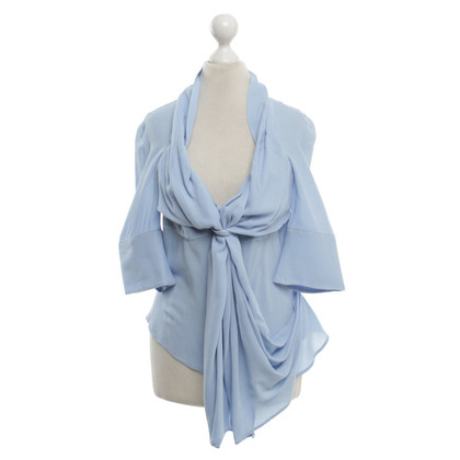 Vivienne Westwood Shed blouse in light blue