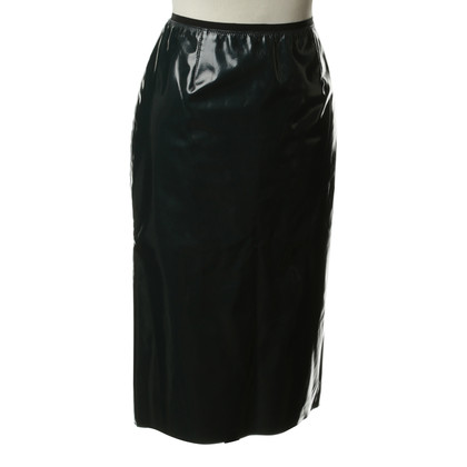 Marc Jacobs Lakleder rok in Petrol