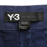 Y-3 Hose in Blau