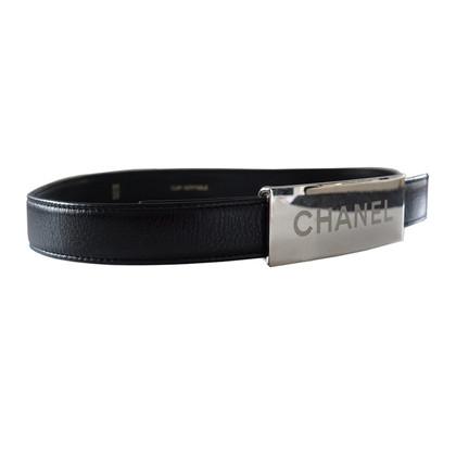 Chanel Gürtel mit Logo-Schließe