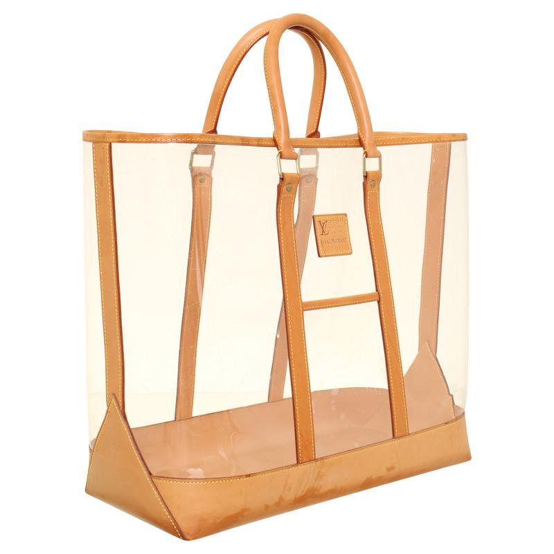 borsa trasparente louis vuitton