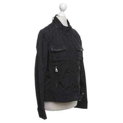 René Lezard Jacket in black