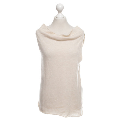 Armani Gebreide top in beige