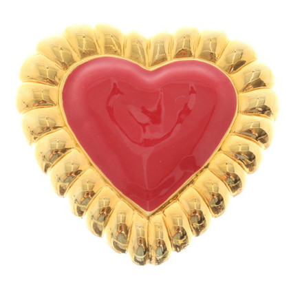 Escada Brooch in heart shape