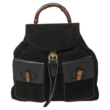 "Gucci ""Bamboo Backpack"" in nero"