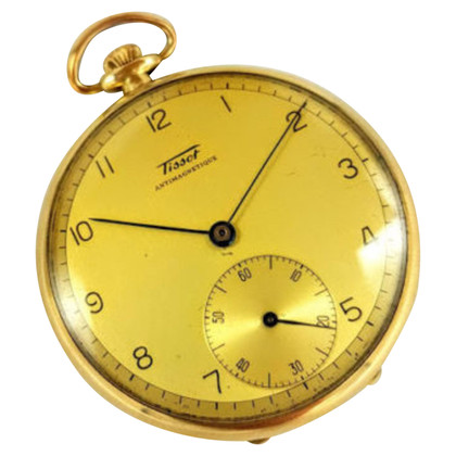 "Tissot ""Le Locle"" vintage en or massif 14K"