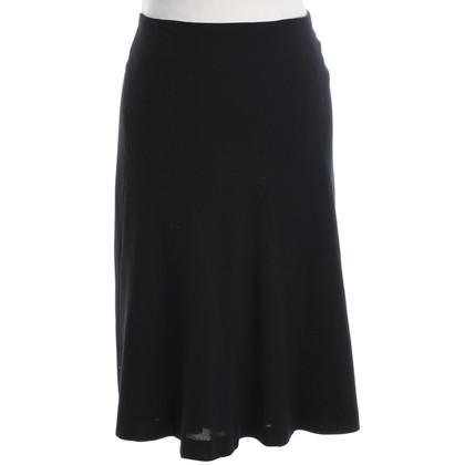 Gunex jupe de laine en noir
