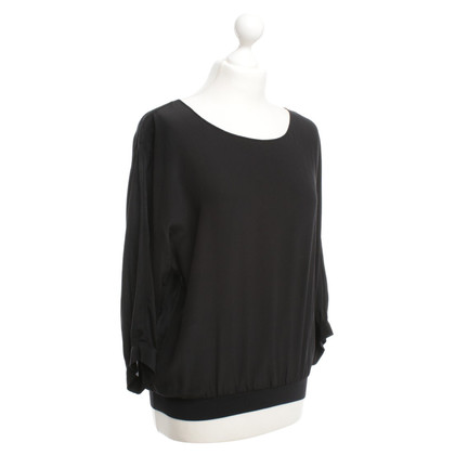 Pinko Silk blouse in black