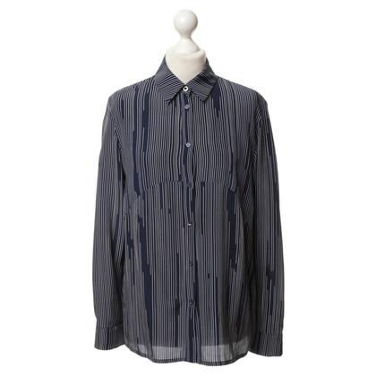 Kenzo Striped silk blouse