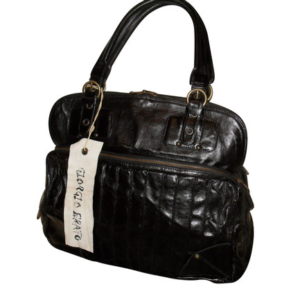 Giorgio Brato Shopper in Black Brown