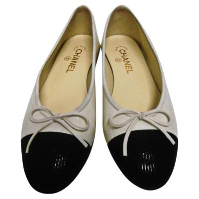Chaussons et ballerines Chanel Second Hand  boutique en ligne de ... 93cb638543c