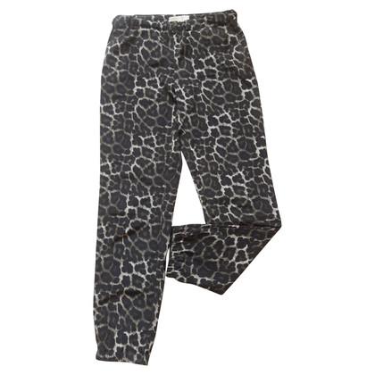 Michael Kors Pantaloni della tuta con stampa animalier