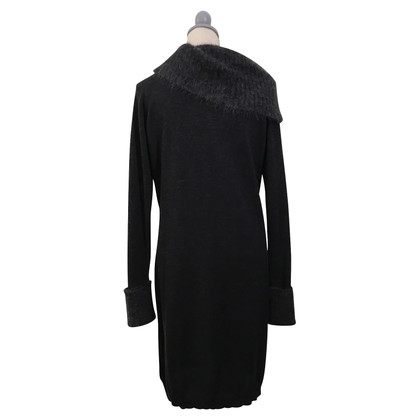 Armani Jeans Woolen dress with mohair collar