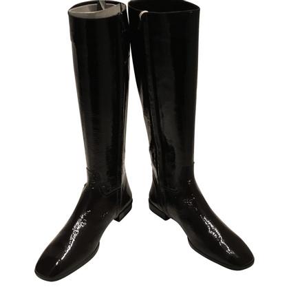 Hogan Patent leather boots