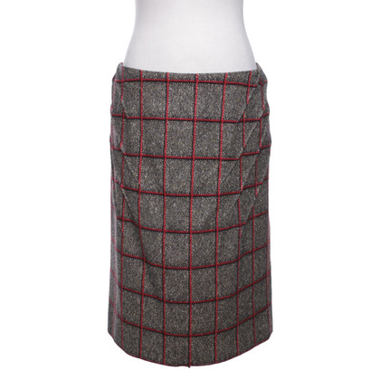 Sonia Rykiel skirt with checked pattern