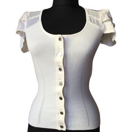 Karen Millen top in white