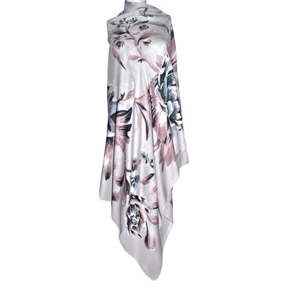 Burberry Scarf with floral pattern