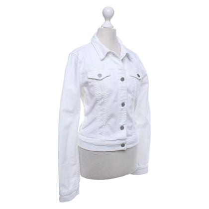 J Brand Denim jasje in het wit