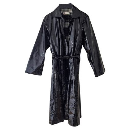 Saint Laurent Trench coat in pelle verniciata